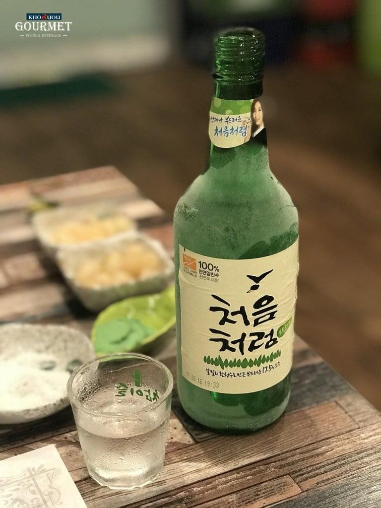 Rượu Sochu Hàn Quốc giá bao nhiêu