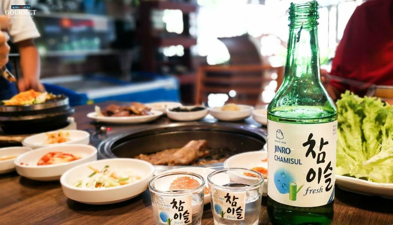 Rượu Soju 1 thùng bao nhiêu chai